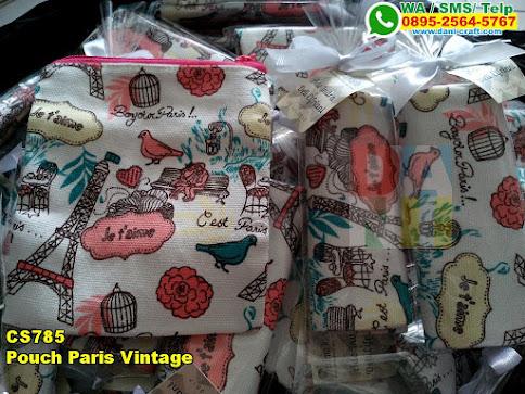 Grosir Pouch Paris Vintage