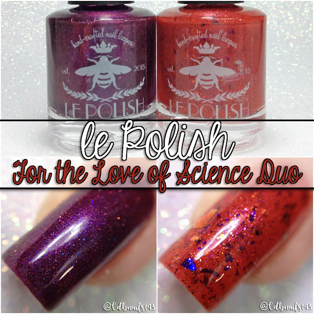 le polish-For The Love of Science Duo