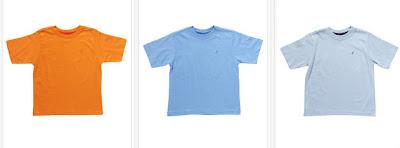 Camisetas para niños de algodón