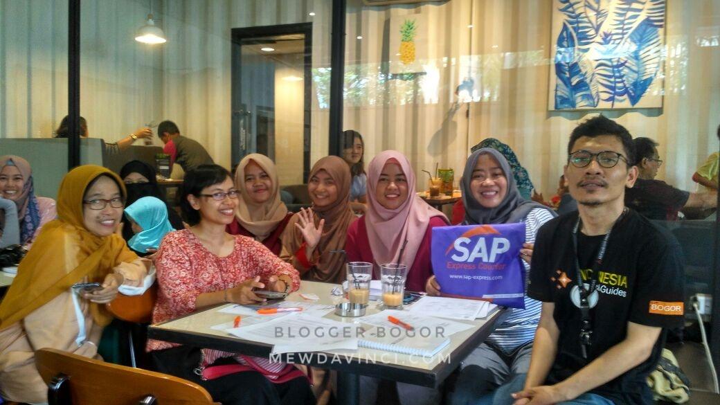Seminar SAP Express Courier bersama Blogger Bogor (Blogor)