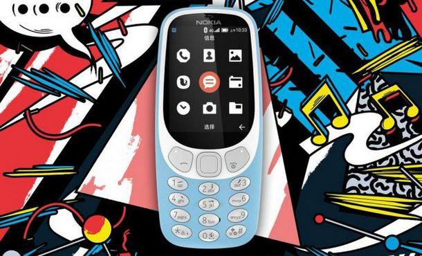 "Nokia 3310 ""Reborn"" Versi 4G LTE"