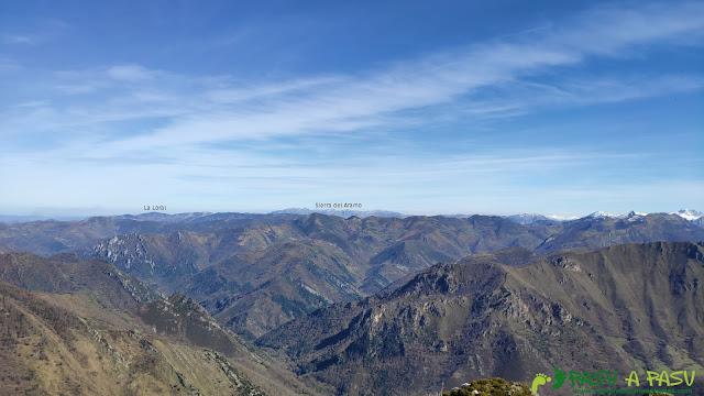 Desde la Patana, vista hacia el Aramo