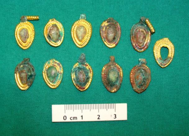 Late Bronze Age jewellery discovered in Azerbaijan