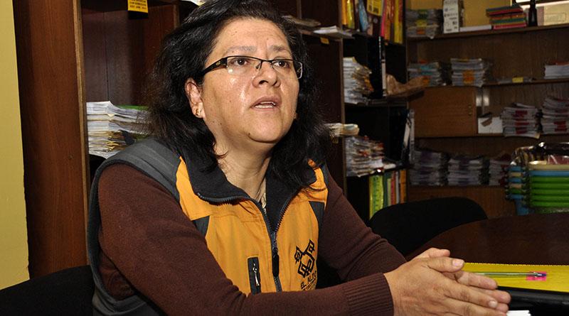 Sarandí Encinas, autoridad Sumariante del Gobierno Municipal de El Alto