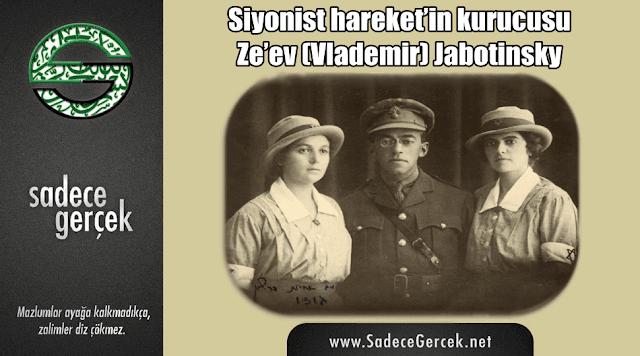 Siyonist hareket'in kurucusu Ze'ev (Vlademir) Jabotinsky