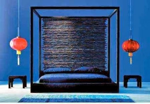 otto canopy bed Paola Navone for Gervasoni