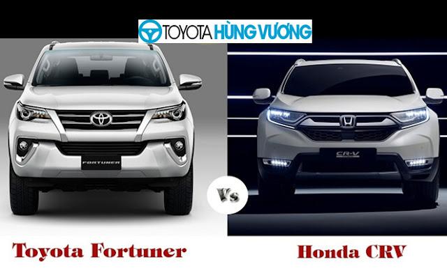 So sánh đánh giá Toyota Fortuner và Honda CR-V ảnh 1