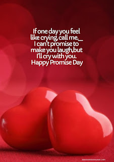 Happy Promise Day wishes to your Girl Friend
