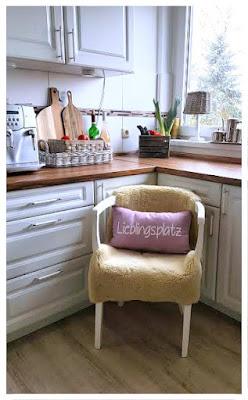 Inspiration aus der Küche: Der Lieblingsplatz an der Kaffeemaschine bei Bloggerin Dani von Countryfeeling 2.0