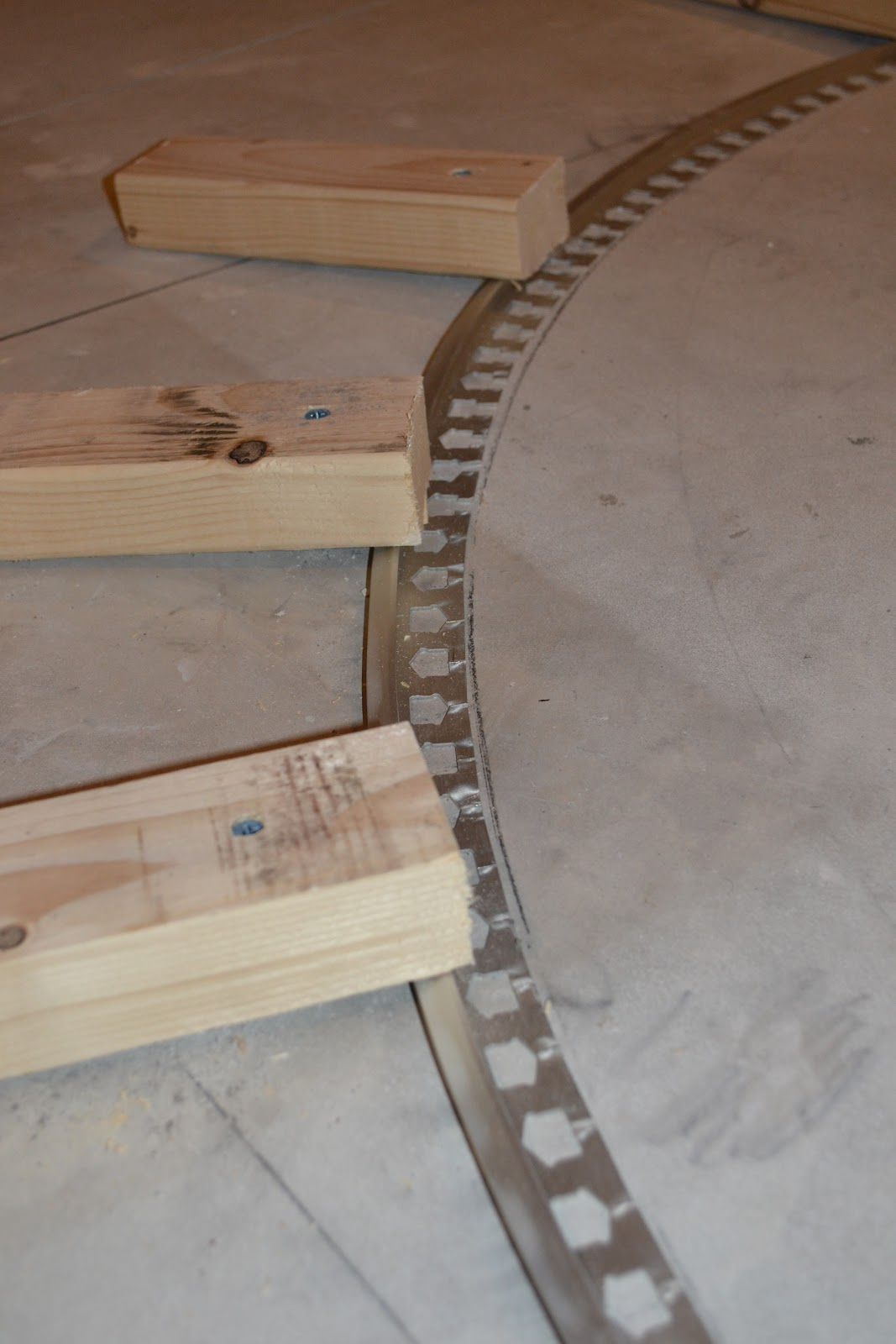 How To Curve A Tile Transition Strip