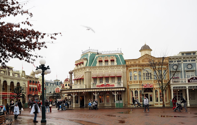 Disneyland Paris Main Street Eingang