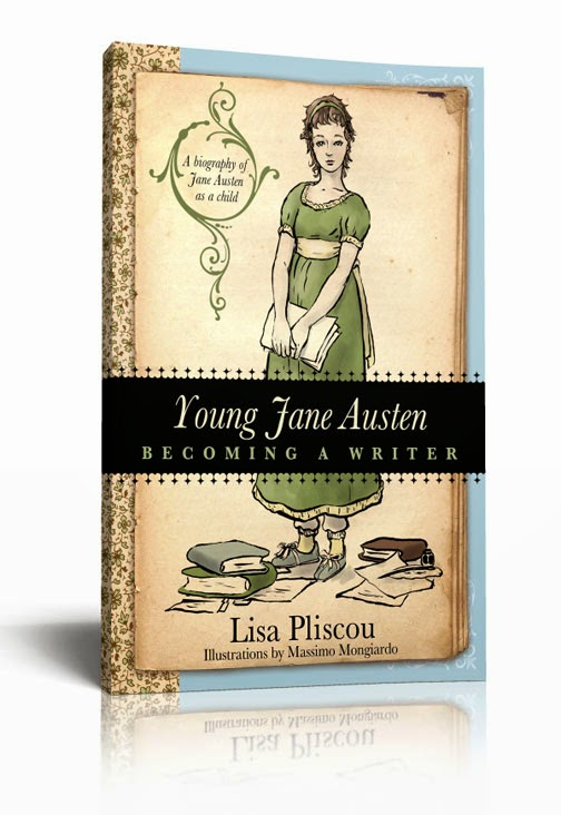 Young Jane Austen by Lisa Pliscou