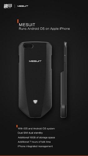 MESUIT .. حافظة تجلب نظام التشغيل أندرويد إلى هواتف آيفون