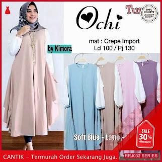 Jual RRJ032A149 Atasan Muslim Wanita Ochi Tunik Sk BMGShop