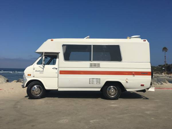 Used RVs 1973 Ford Econoline Custom Camper For Sale by Owner