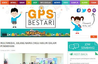Cikgu Hailmi Dalam Personaliti GPSBestari.com