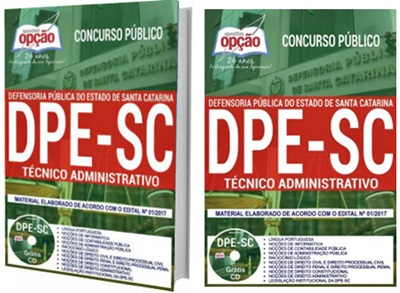 Apostila Concurso DPE-SC 2018