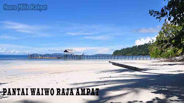 Pantai Waiwo Raja Ampat