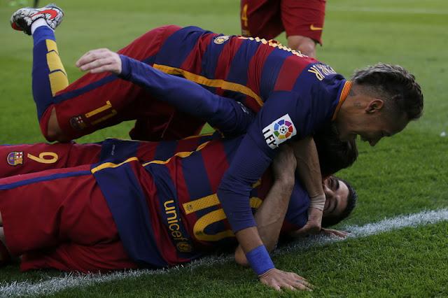 Hot Soccer: Barcelona Duduk di Pucuk Klasemen La Liga