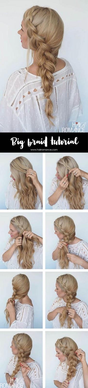de todos los peinados sencillos de pelo largo si existe un ejemplo que me encanta y que me saca una sonrisa son los peinados con trenzas