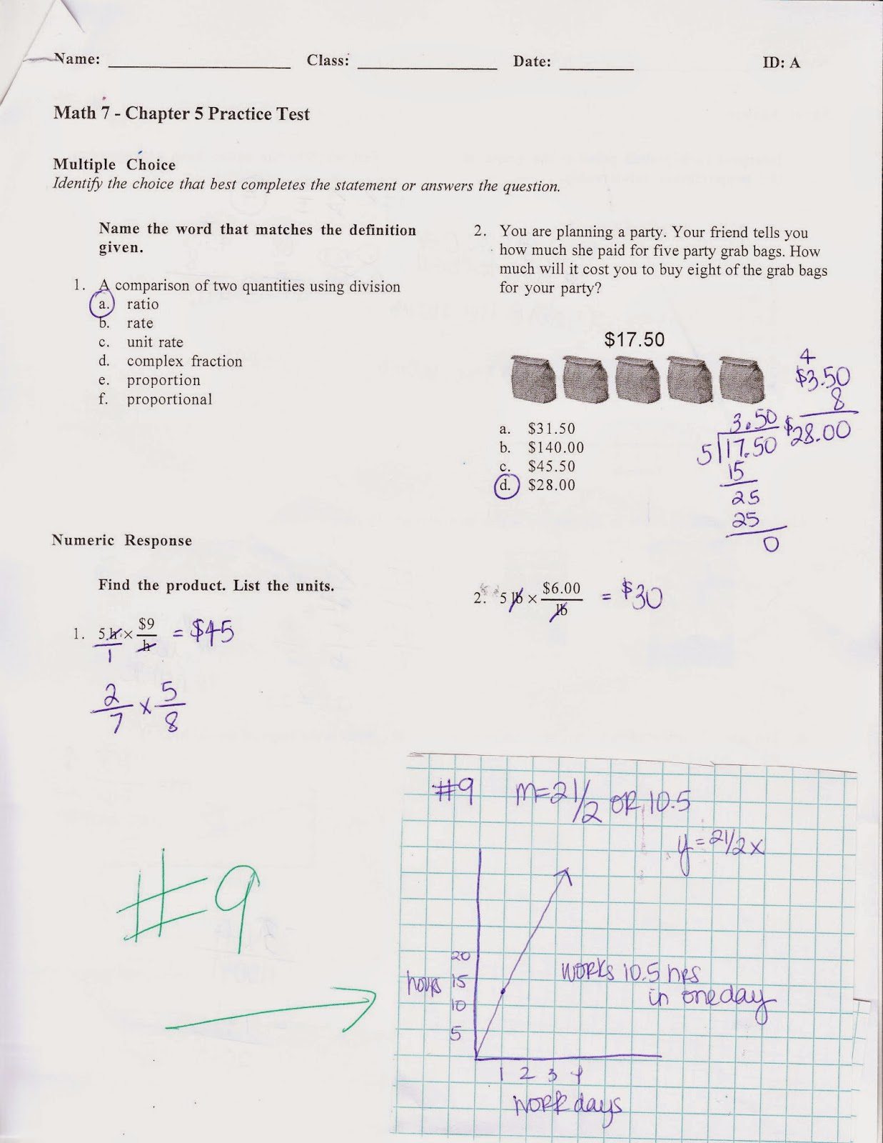 Ms Jean S Classroom Blog Chapter 5 Practice Test Answers