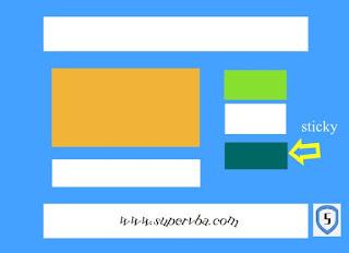 Buat Sticky Widget Sidebar Blog