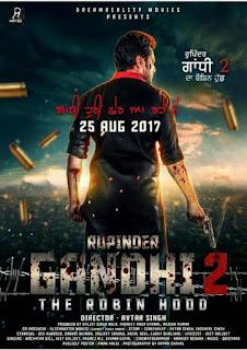 Rupinder Gandhi 2 (2017) Punjabi Movie 480p HDRip [380MB]
