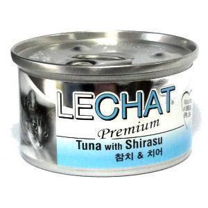 Pate Lechat cá ngừ và cá Shirasu