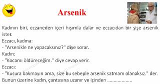 Arsenik - Karı Koca Fıkraları - Komikler Burada