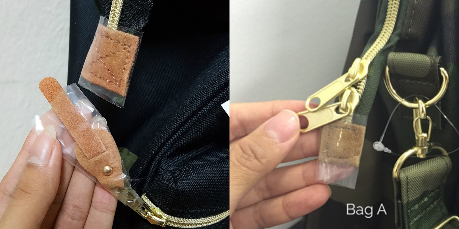 37a6713cd9 The zippers should be gold and not rose gold, and mine were gold: