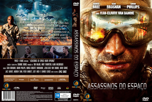Capa DVD Assassinos Do Espaço