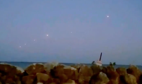 Ufo sul lago michigan? video.