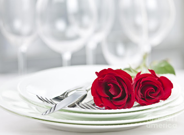 yemeği romantik kılma