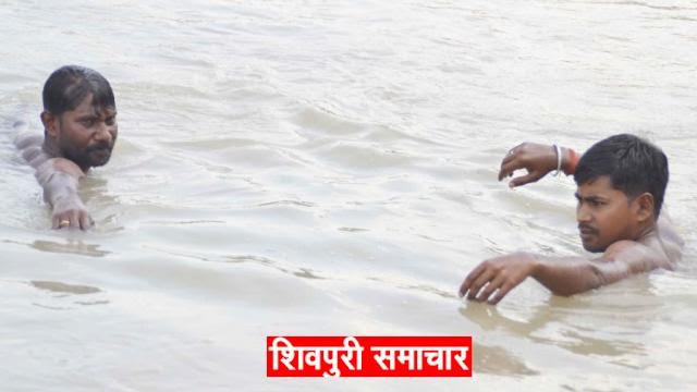 नानी के यहां आई 10 वर्षीय मासूम पानी के गड्डे में डूबी, मौत | Shivpuri News