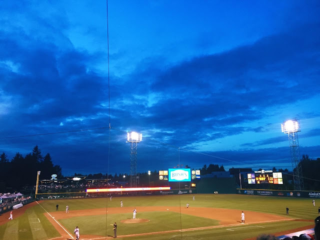 Cheney Stadium in Tacoma Washington