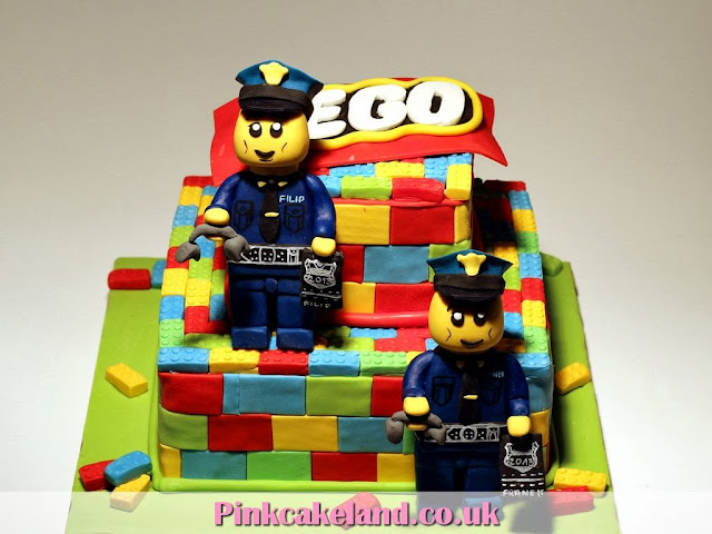 Lego Birthday Cake - London Cakes