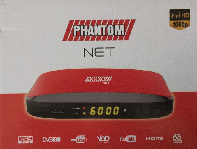 Resultado de imagem para Phantom Net Cabo