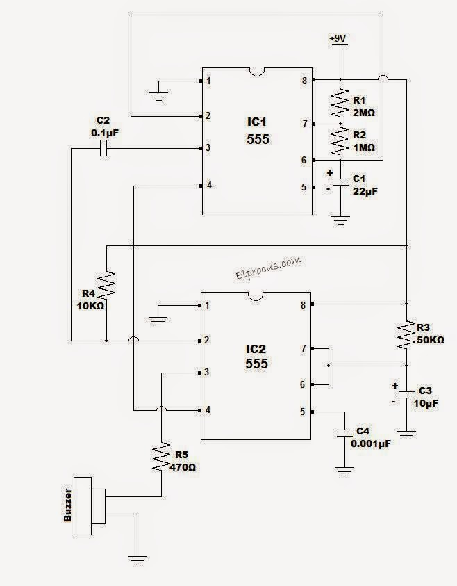 Electrical Engineering World: 60 Second Timer Circuit Diagram