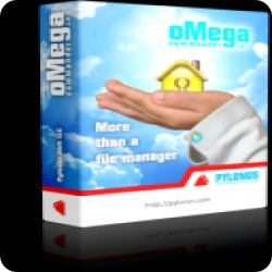 تحميل oMega Commander مدير الملفات والبحث