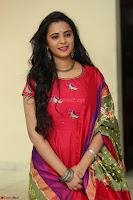 Manasa in Pink Salwar At Fashion Designer Son of Ladies Tailor Press Meet Pics ~  Exclusive 04.JPG