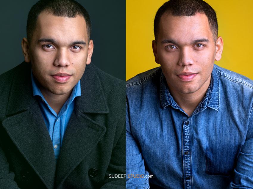 Detroit Actor Professional Headshots for Theater TV - Sudeep Studio.com