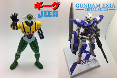 Jeeg Super Robot Chogokin Gundam Exia Metal Build recensione