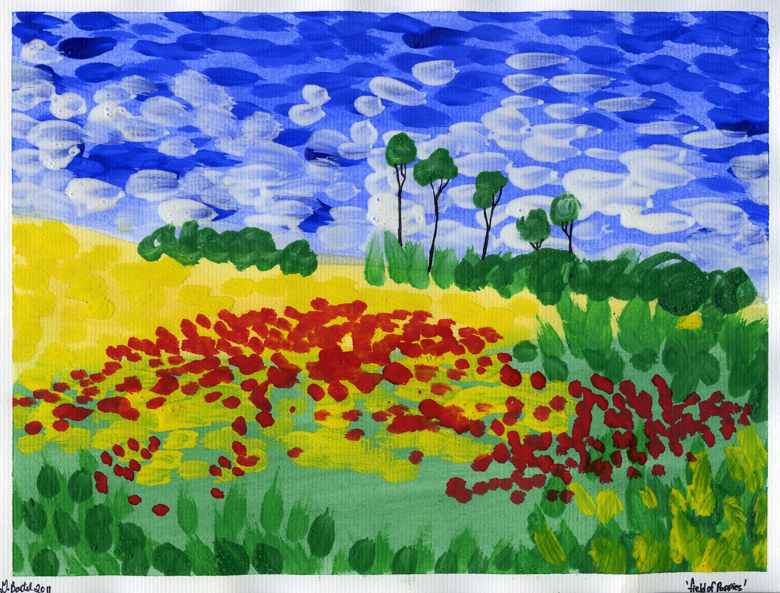 Impressionism Craft For Kids