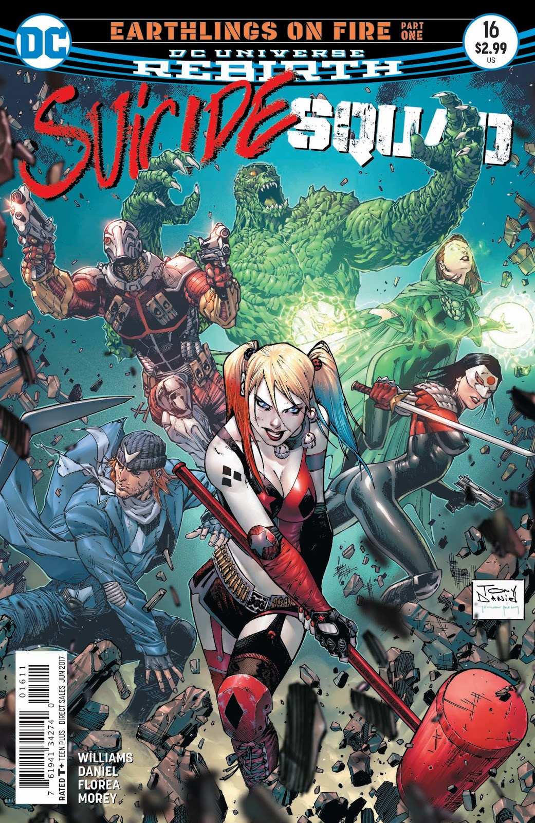 weird science dc comics  preview  suicide squad  16