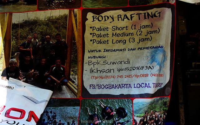 Informasi River Tubing di Sungai Oya, Imogiri, Bantul