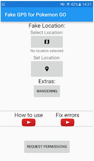 Fake GPS for Pokemon Go - Aplikasi Mempermudah Mendapatkan Pokemon