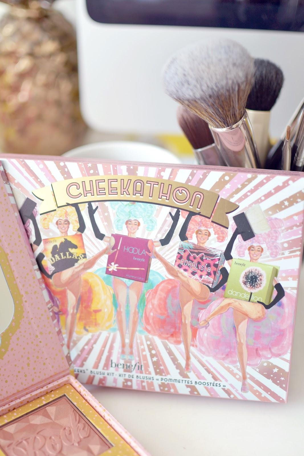 Benefit's Cheekathon blusher palette