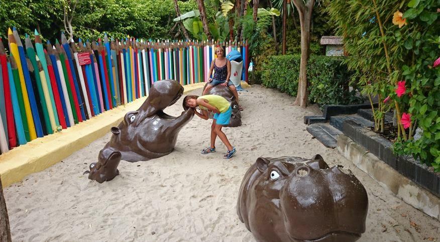 Parque infantil de Mundomar.