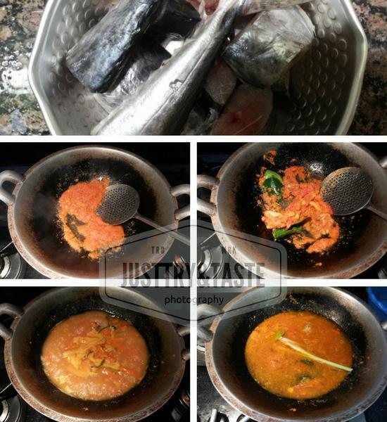 Resep Gulai Ikan Tengiri a la Gula Merah