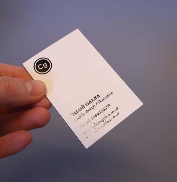 6f5b7cd6ae606 30 Foil Blocked Business Card Designs for Inspiration - Jayce-o-Yesta